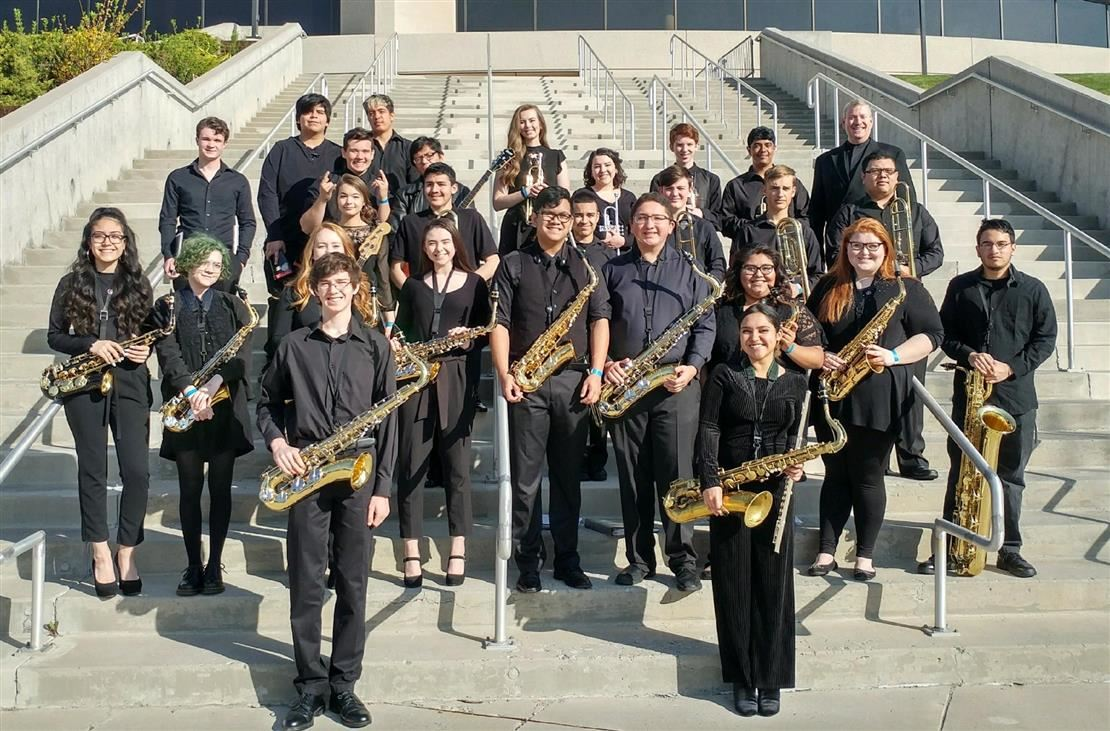 Medalists at the Reno Jazz Festival