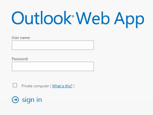 Technology Help Desk / Web App (OWA)