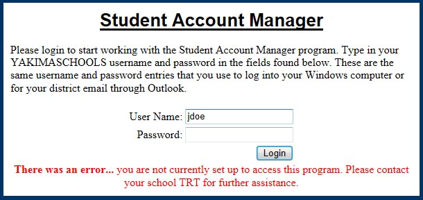 Technology Help Desk / Student Acct  Manager