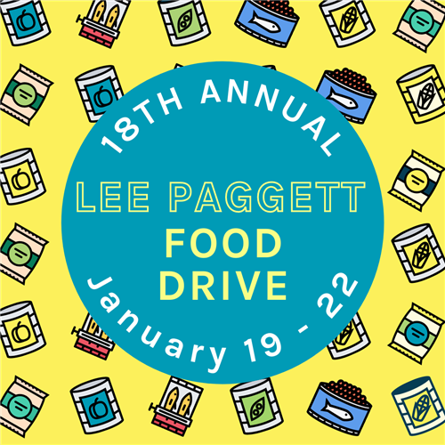 Lee Paggett Food Drive