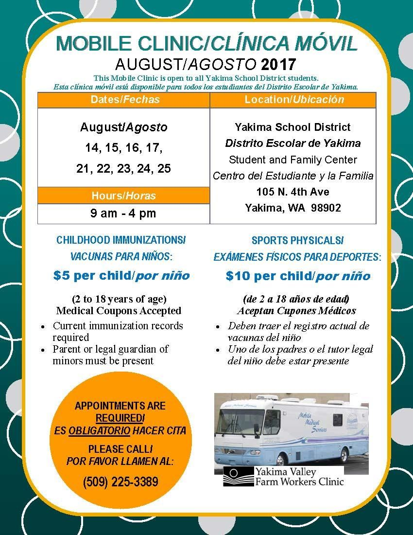 Mobile Clinic Flyer