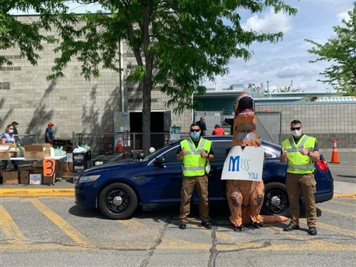 YPD loves T-Rex too!