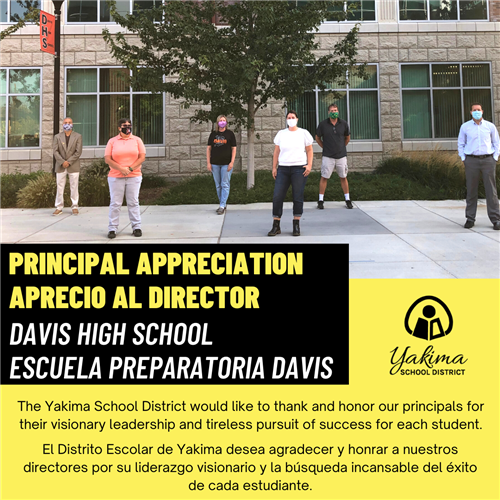 Principal Appreciation Image for AC Davis