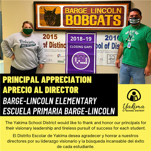Barge Lincoln Principals
