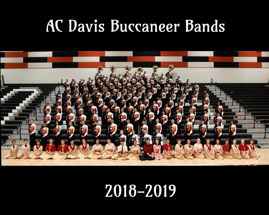 A.C. Davis Marching Band 2018