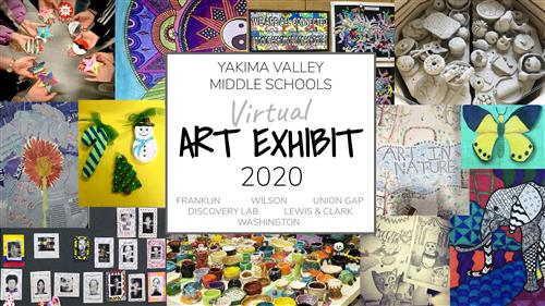 YSD Middle School Art Exhibit 2020
