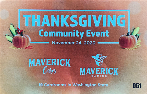 Thanksgiving Community Event - November 24